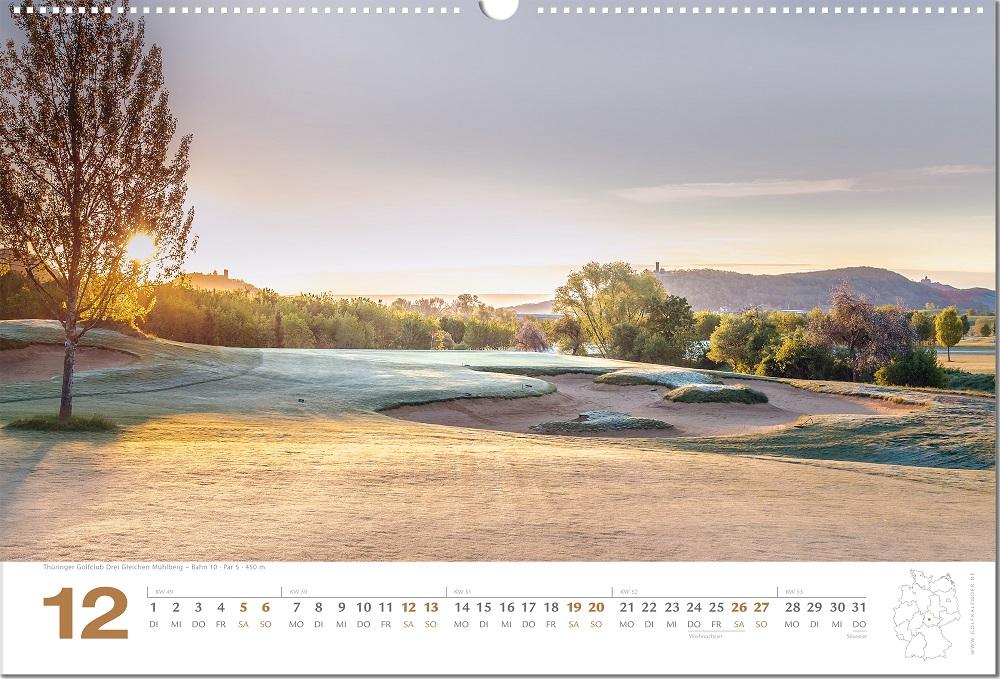 golfkalender2020 Dezember 2020