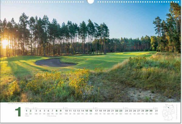 Golfkalender Januar 2022