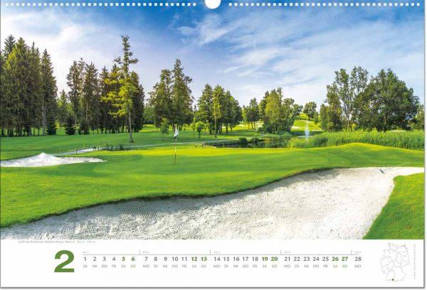 Golfkalender Februar 2022