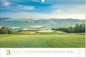 Golfkalender März 2022