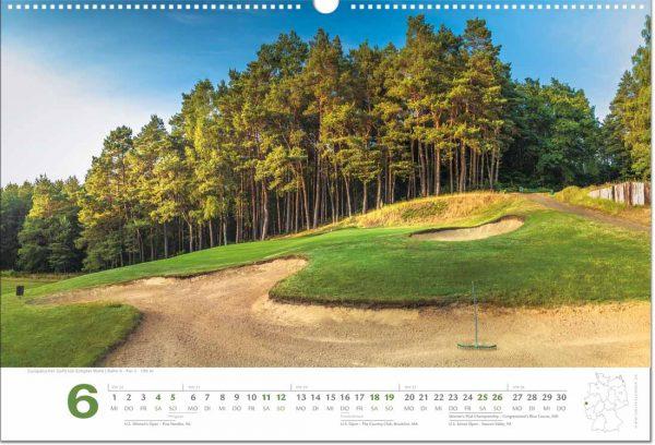 Golfkalender Juni 2022