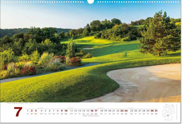 Golfkalender Juli 2022
