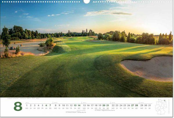 Golfkalender August 2022
