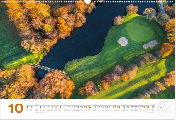 Golfkalender Oktober 2022