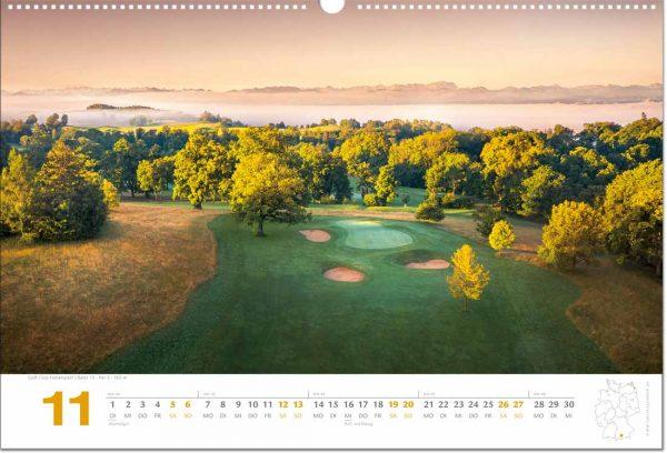 Golfkalender November 2022